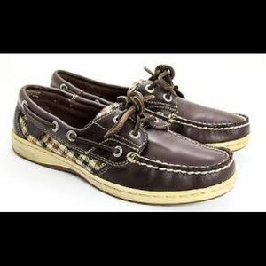 Women's Leather Sperry's size 9